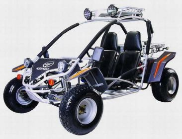 Features of Kinroad XT250GK-9 Dune Buggy