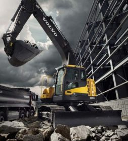 Features of Volvo ECR145D